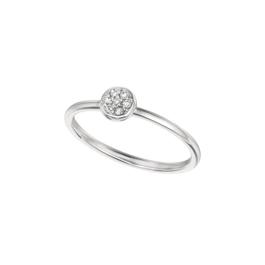 Diamond 14K White Gold Ring
