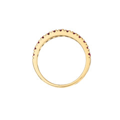 Ruby 14K Yellow Gold Ring