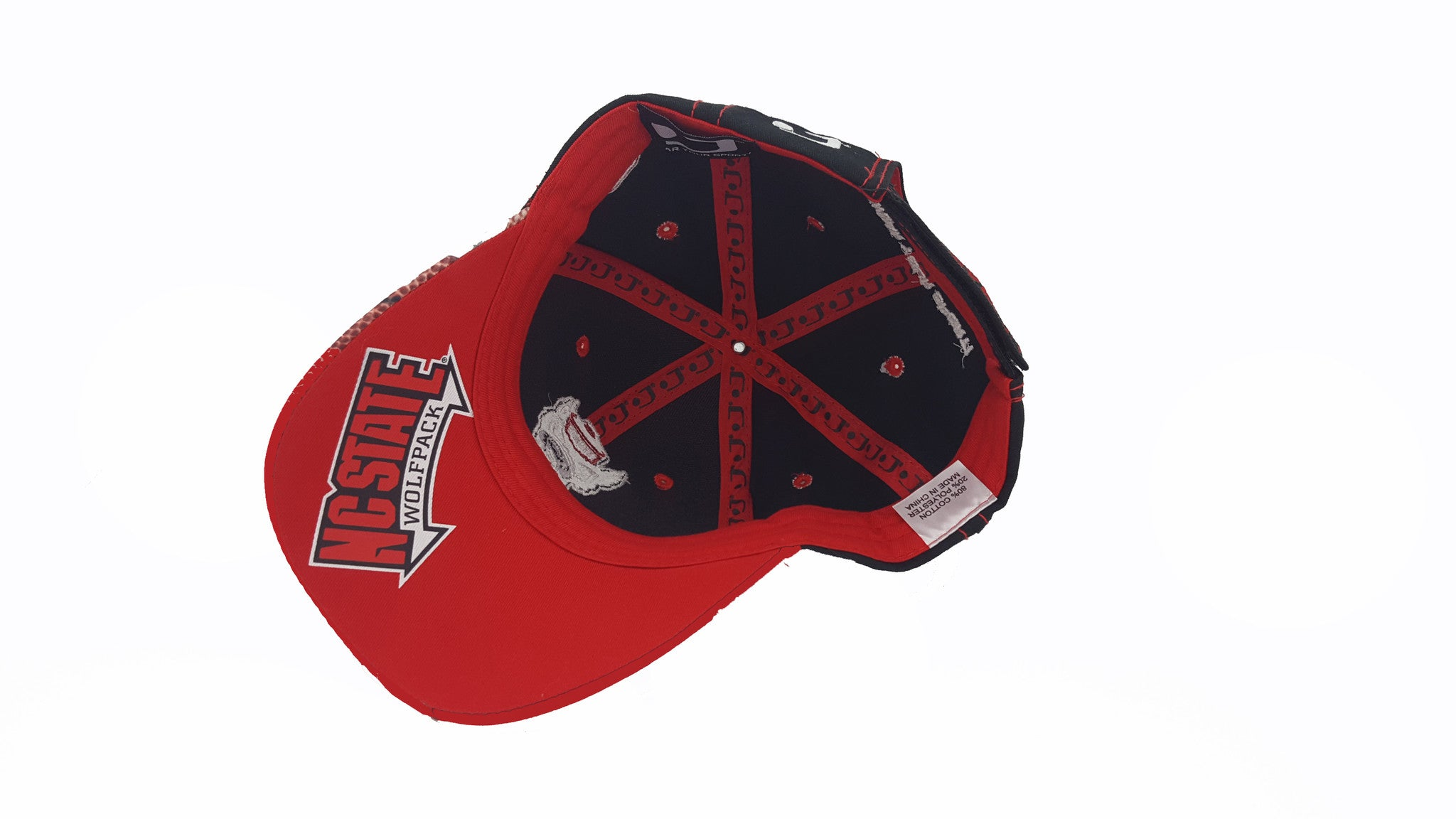 promo code d8ae2 4450a ... canada nc state wolfpack football cap 0dc1a 40910