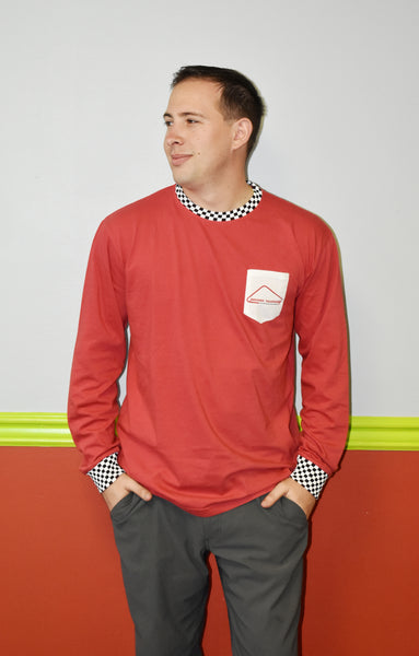 Red Jacket Custom Red Long Sleeve