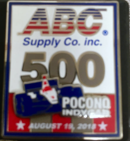 2018 ABC Supply 500 Event Pin