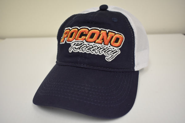 Navy Blue and White Pocono Hat