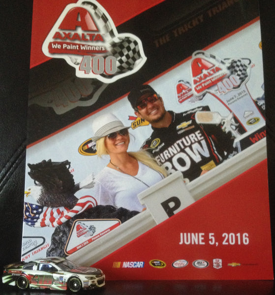 June 2016 Axalta We Paint Winners 400 Event Program and Diecast Car