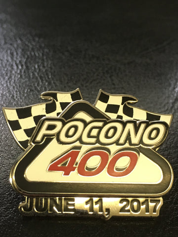 2017 Axalta Presents Pocono 400 Event Pin