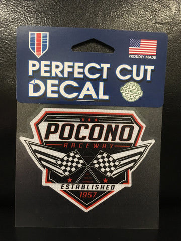 Pocono Raceway Perfect Cut Decal
