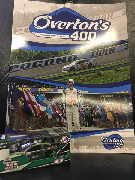 2017 Overton's 400 Event Program and Car