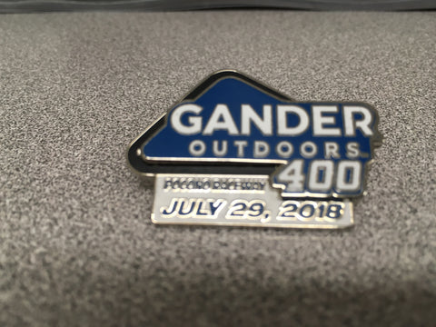 2018 Gander Outdoors 400 Event Pin