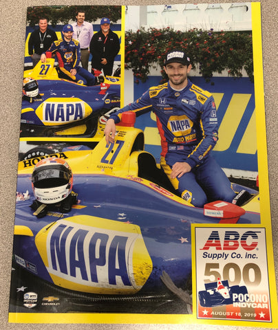 2019 ABC Supply 500 INDYCAR Program
