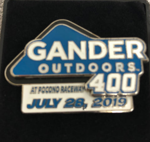2019 Gander RV 400 Event Pin