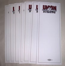 Load image into Gallery viewer, Union Strong Handy NOTEPADS - CUSTOMIZED