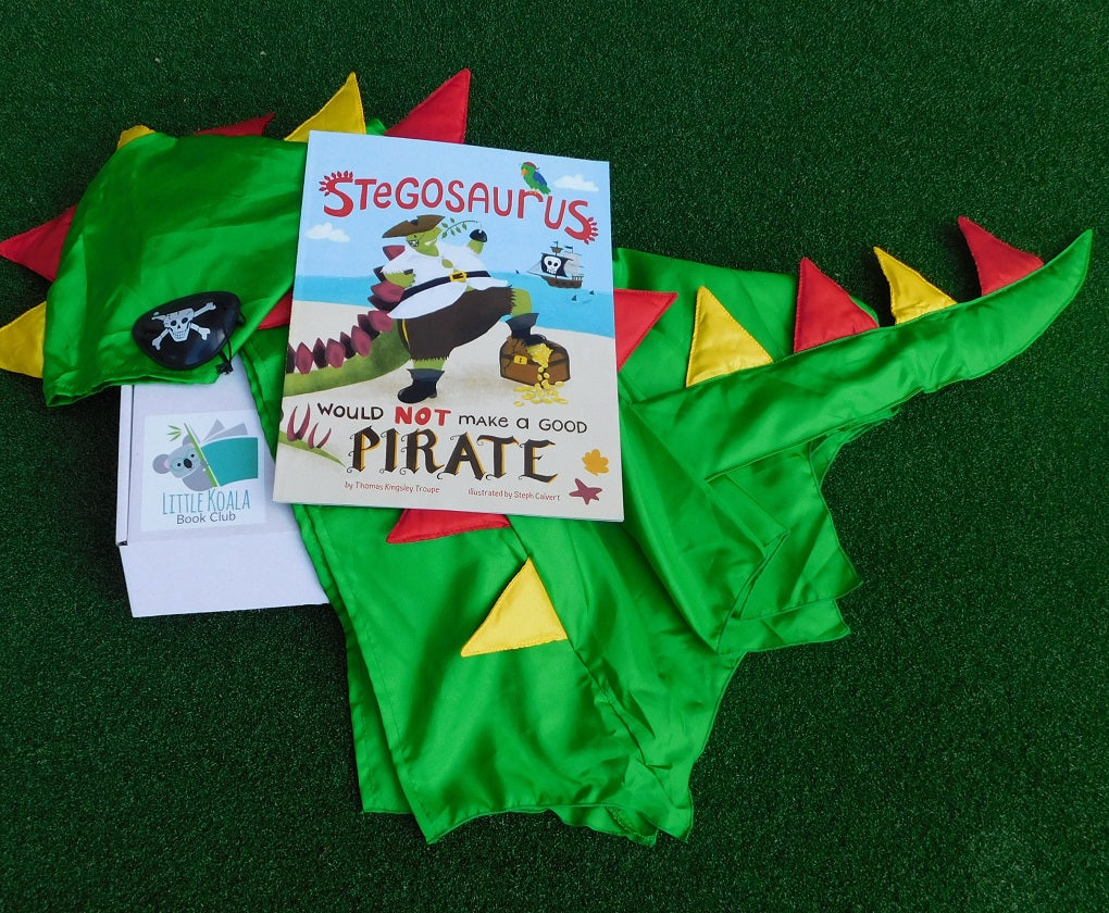 Dinosaur pirate story book box PRE-ORDER ONLY'