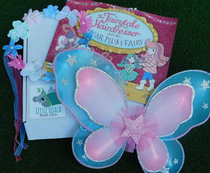 Fairy book and fairy dress up Little Koala Book Club