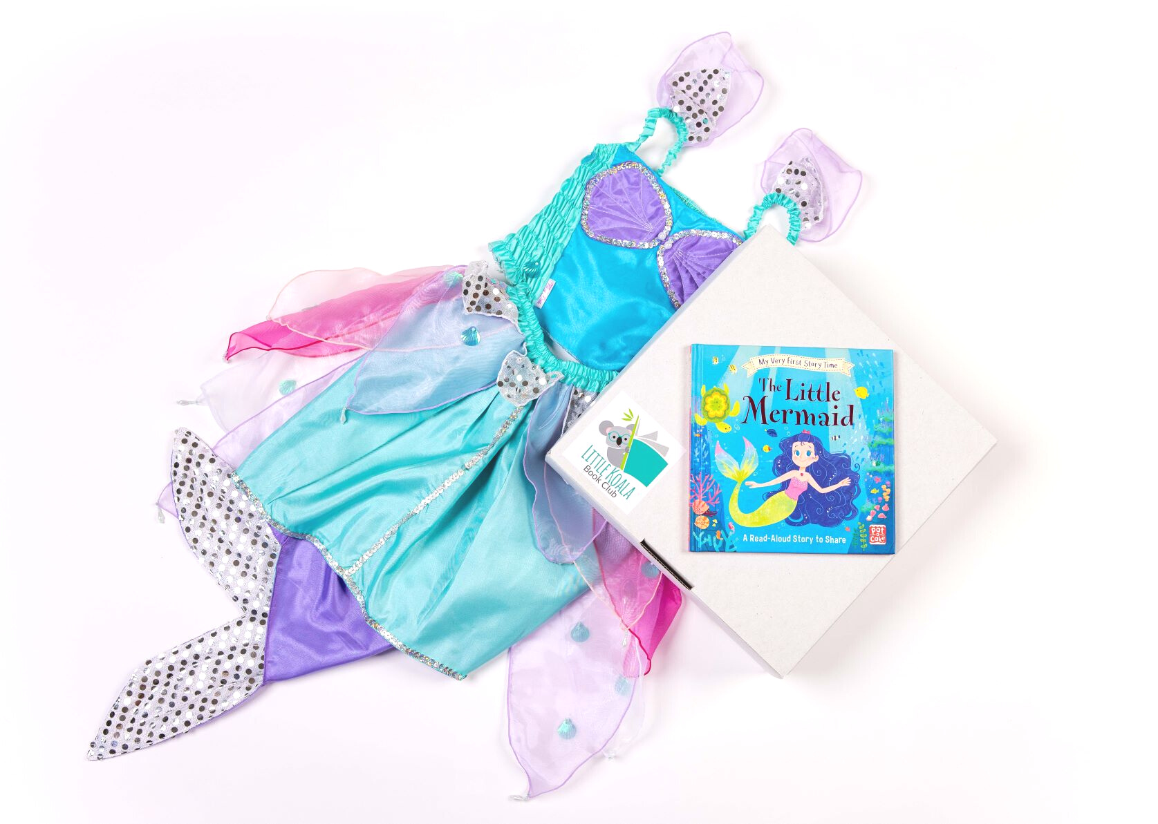 Mermaid Premium storybook & dress up box PRE-ORDER ONLY