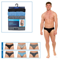 Mens Briefs with Ribbed Side (3 Pack)