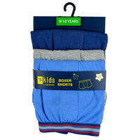 Boys Knitted Boxer Shorts (3 Pack)