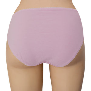 Ladies Hi Leg Briefs in Polybag (5 Pack)