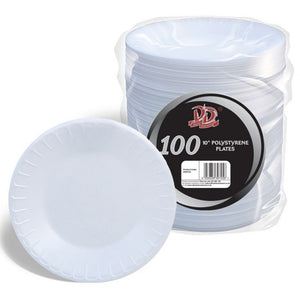 "Buy wholesale 100pc 10"" thermo disposable plates Supplier UK"