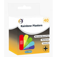 Buy wholesale 40pc rainbow plasters Supplier UK