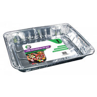 Buy wholesale 1pc large rectangular foil dish (approx 459mm x 339mm x 65mm) Supplier UK