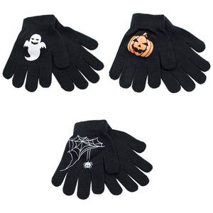 Boys Thermal Halloween Gripper Gloves 1pp