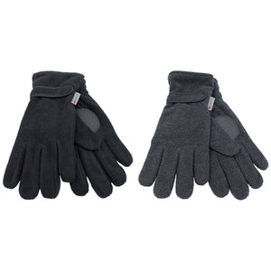 Mens Thinsulate Polar Fleece Gloves