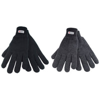 Mens Thinsulate Knitted Gloves