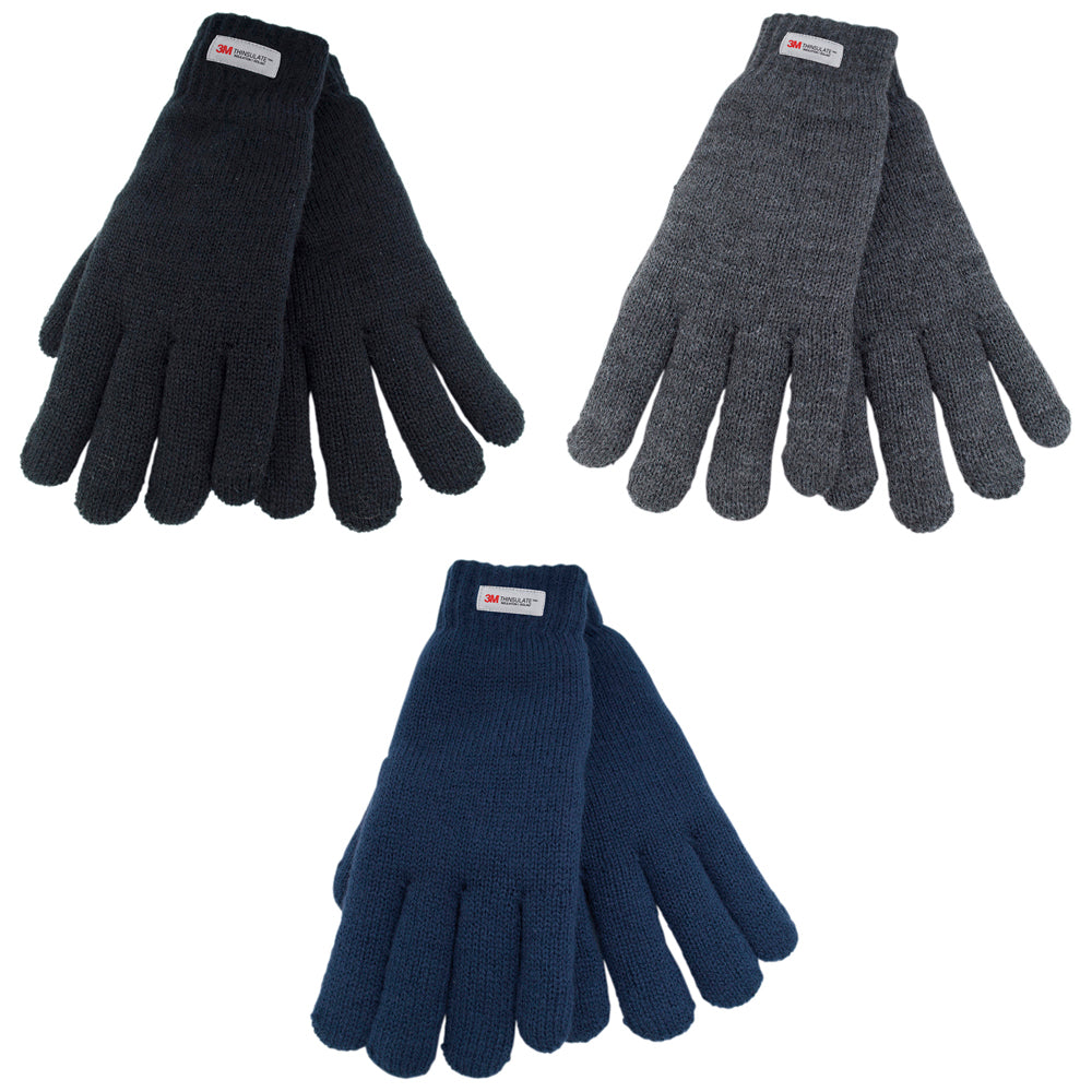 Ladies Thinsulate Knitted Gloves