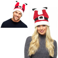 Adults Santa Hat with Legs