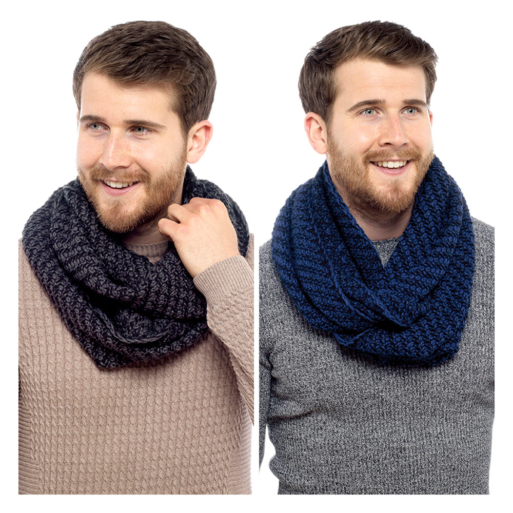 Mens Knitted Snood