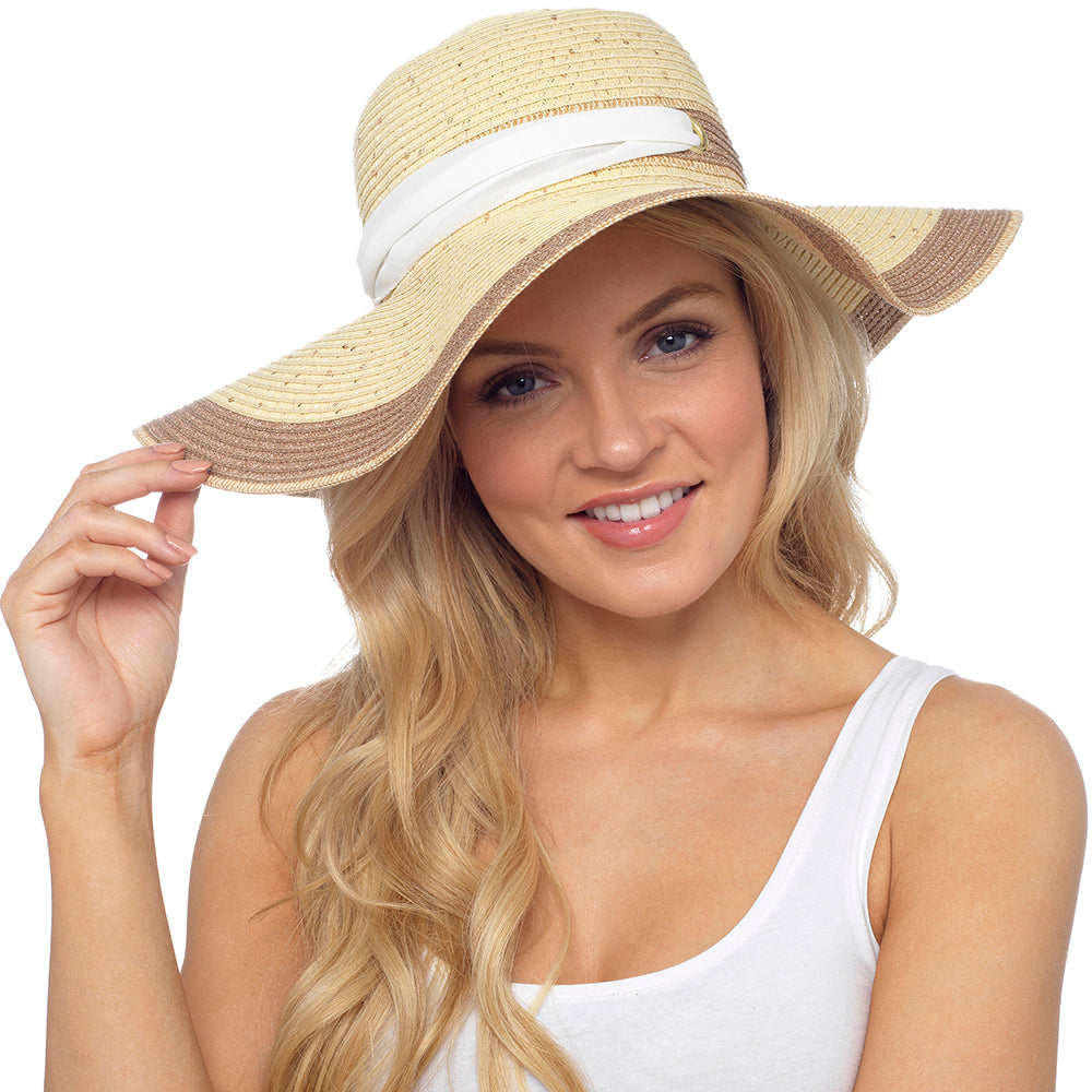 Ladies Summer Hat with Bow
