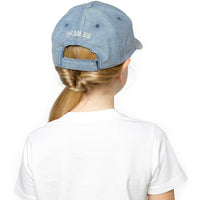 Girls Basebcall Cap with Unicorn Embroidery