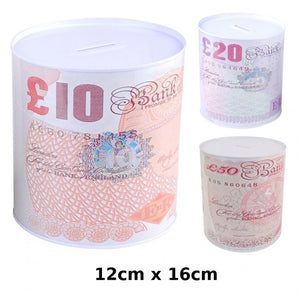 Buy wholesale 12cm x 16cm money tin Supplier UK