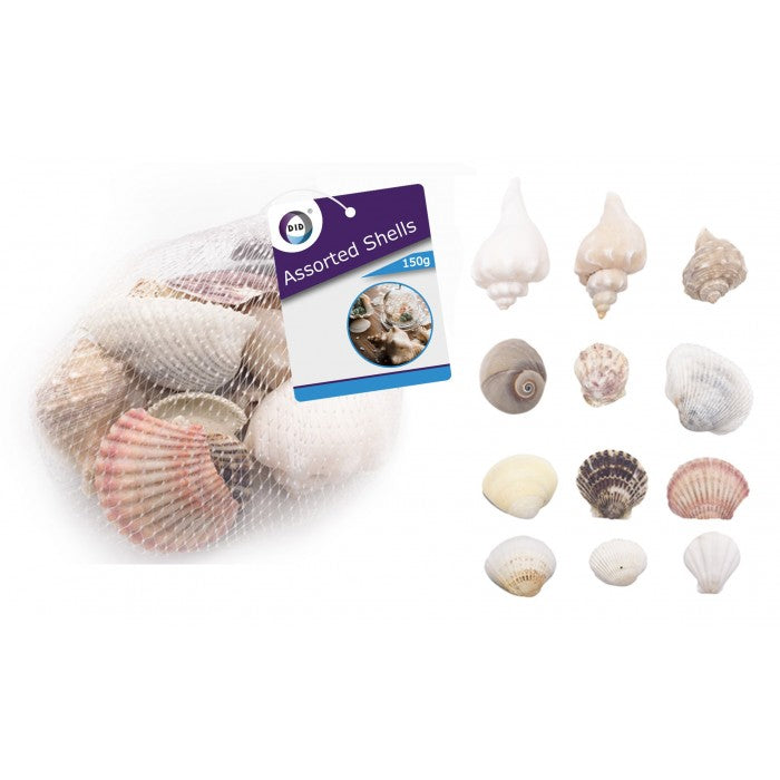 150g assorted shells