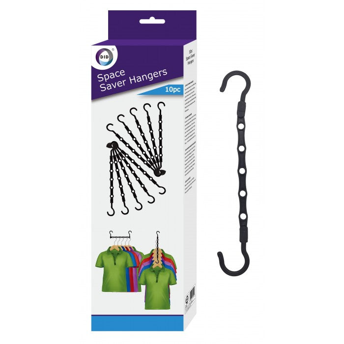 Buy wholesale 10pc space saver hangers Supplier UK
