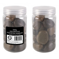 500g decorative assorted pebbles