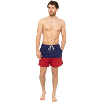 Mens Colourblock Swim Shorts
