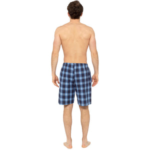 Mens Checked Shorts (Twin Pack)