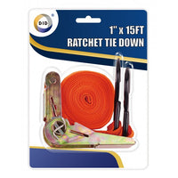 "Buy wholesale 1"" x 15ft ratchet tie down Supplier UK"
