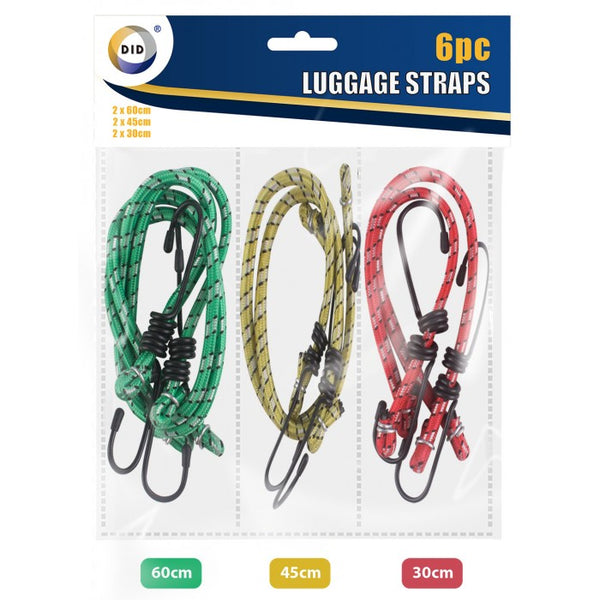 Buy wholesale 6pc luggage straps Supplier UK