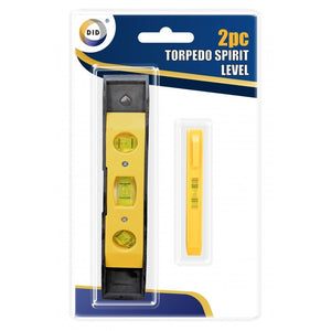 Buy wholesale 2pc torpedo spirit level Supplier UK