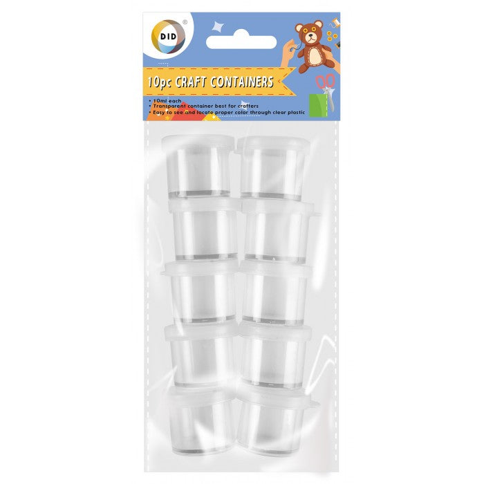 10pc craft containers