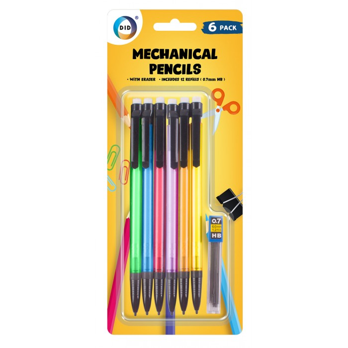 Buy wholesale 6pc mechanical pencils Supplier UK