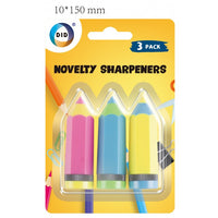 Buy wholesale 3pc novelty sharpeners Supplier UK