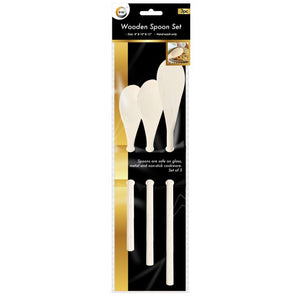 Buy wholesale 3pc wooden spoon set Supplier UK