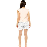 Ladies Team Bride Pyjama Shorts Set
