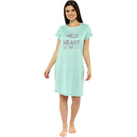 Ladies Jersey Printed Nightie