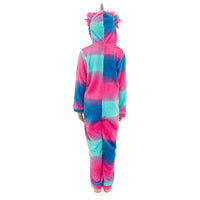 Girls Multicoloured Unicorn Hooded Onesie