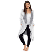Ladies Fleece Waterfall Wrap