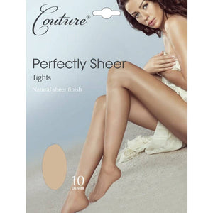 Ladies Perfectly Sheer Tights 10 Denier
