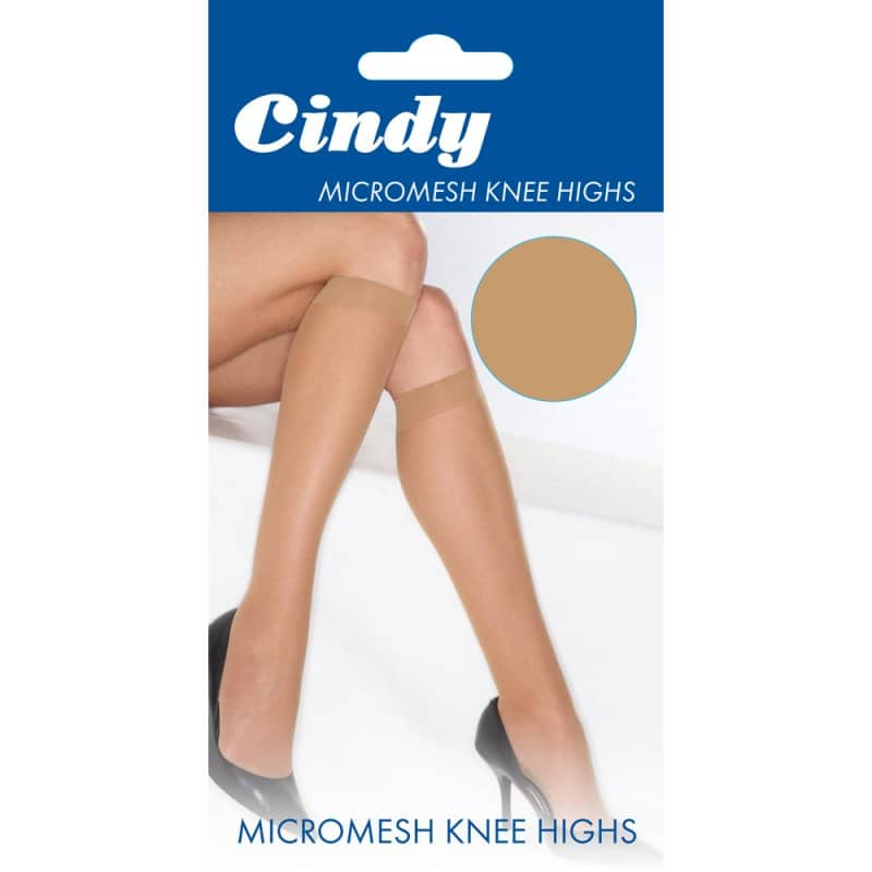 Ladies Micromesh Knee High Socks 20 Denier